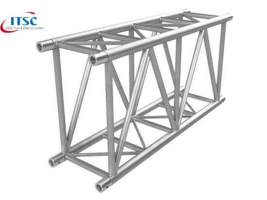 top support rectangular truss