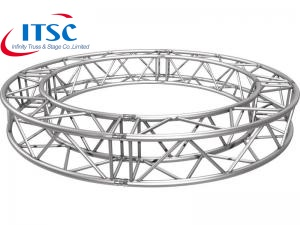 small stage band circular truss