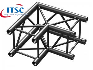 2 way black truss corner