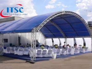 Curved Truss Lighting System